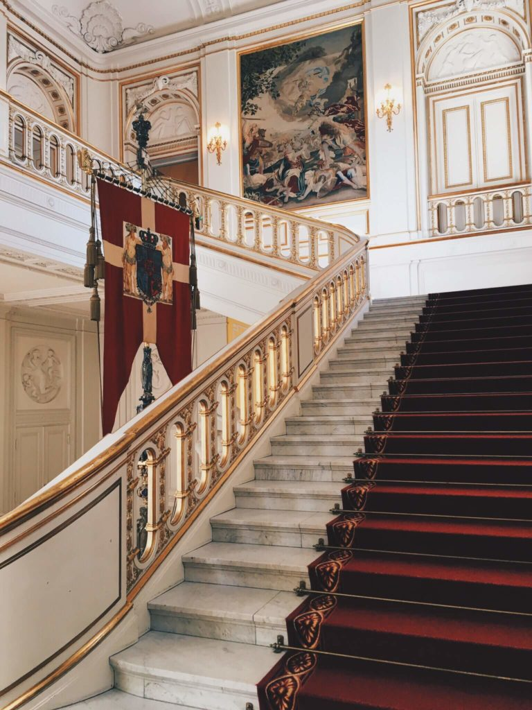 Christianborg Palace Stairs