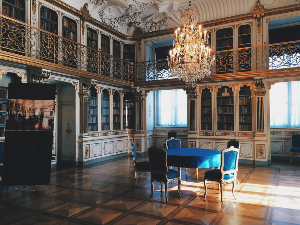 The Queens Library Christianborg Palace