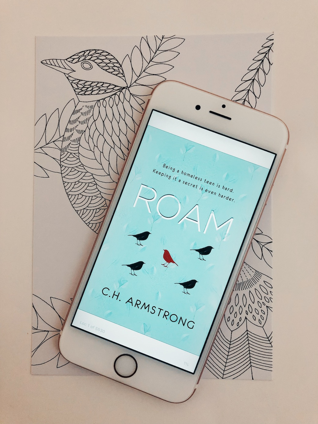 Roam-CH-Armstrong-ARC-Review-netgalley-the-wednesday-issue