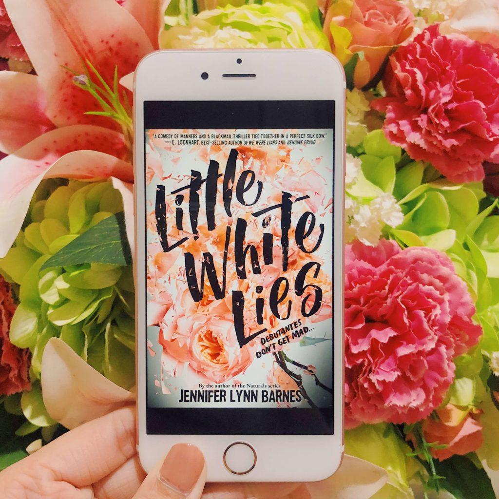 little white lies jennifer lynn barnes review the wednesday issue